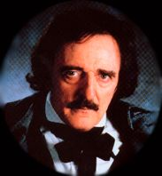 John Astin as Edgar Allan Poe
